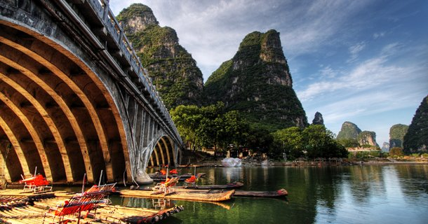 Riviere li a Guilin