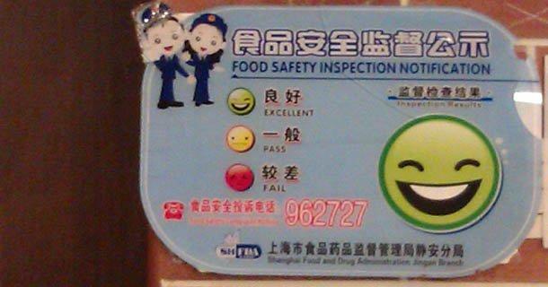 La sécurité alimentaire dans les restaurant en Chine