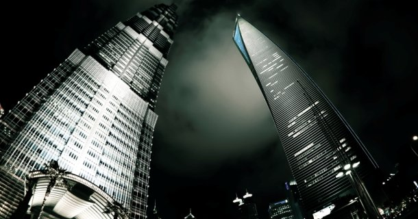 Jin Mao Tower & Shanghai World Financial Center