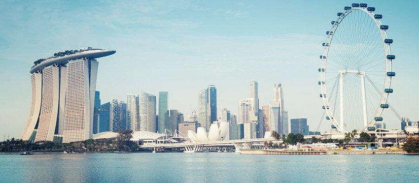 singapour ville florissante