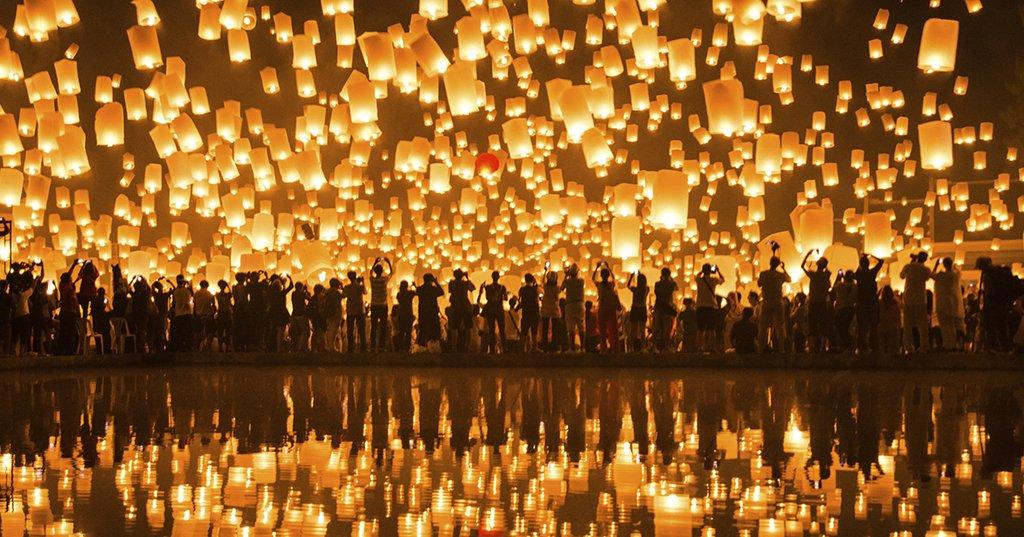 La f te des lanternes de ta wan le petit nouvel an chine voyages - Nouvel an 2015 insolite ...