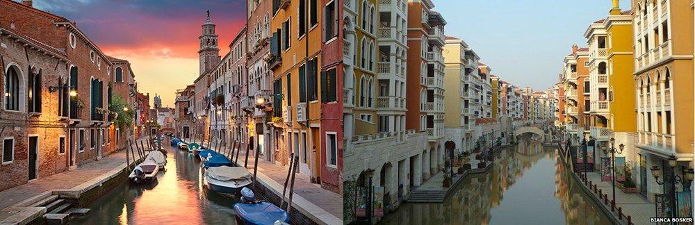 Copie de la ville de Florence en Chine