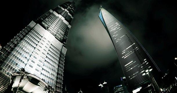 Jin Mao Tower & Shanghai World Financial Center