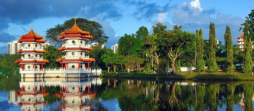 Singapour, Une ville jardin enchanteresse