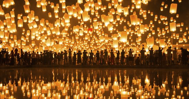 Festival lanternes Pingxi