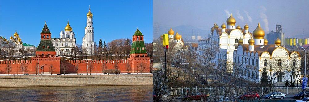 Copie du Kremlin en Chine