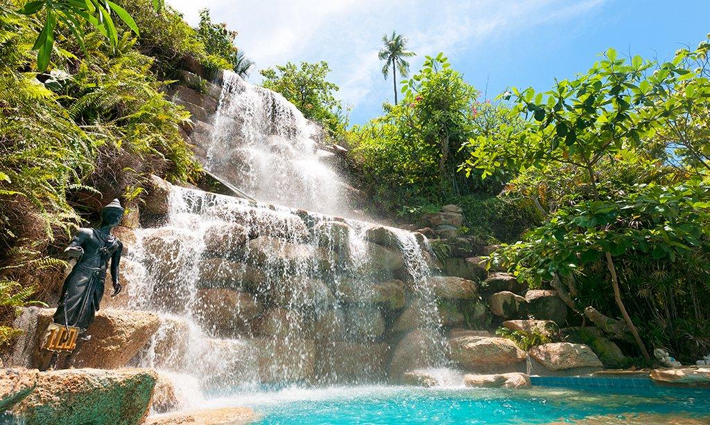 Full Moon party, Thailande, Voyage en Thailande, Fete Thailande, Full Moon Thailande, Koh Phan Gan, Haad Rin, Cascade Thailande