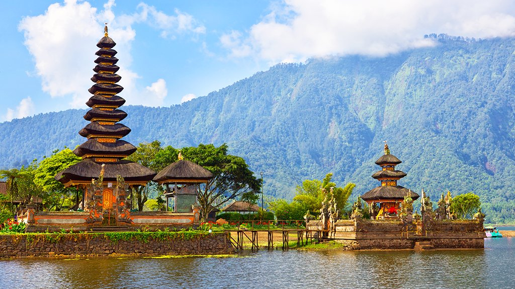 Temple Pura Bratan, Bali
