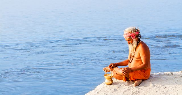 Pèlerin sadhu